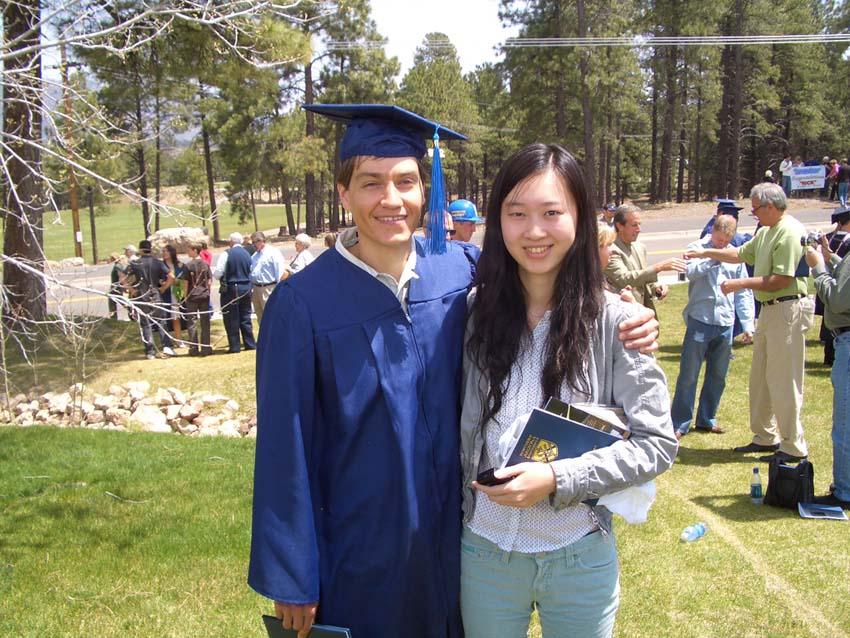 美国北亚利桑那大学2009年毕业生徐策图片